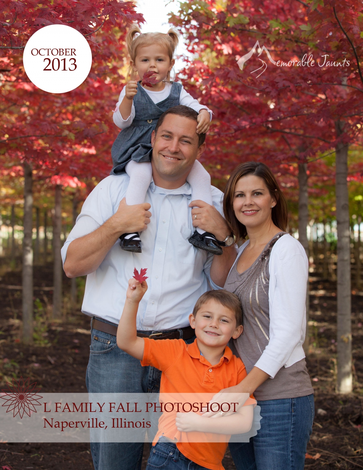 Naperville Family Photographer Fall Family Portraits at Wagner Farms ...